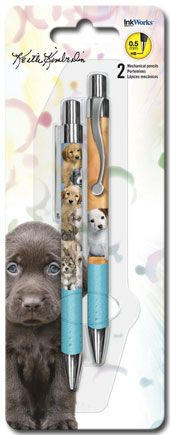 Keith Kimberlin Puppies - Mechanical Pencils - 2pk