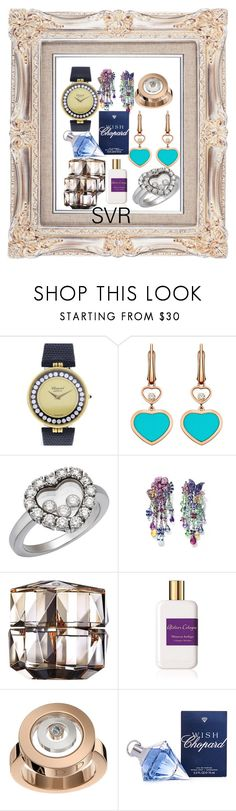 """Chopard....."" by svrrvs ❤ liked on Polyvore featuring Chopard, Clé de Peau Beauté and Atelier Cologne"