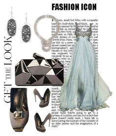 """Get the Look: Met Gala 2016"" by msminz-laden ❤ liked on Polyvore featuring Nando Muzi, WithChic, Kendra Scott, Lara Bohinc, GetTheLook and MetGala"