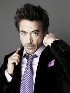 Robert Downey, Jr: He got his life back on track and stuck with his art. He's an incredibly gifted actor and, let's face it, totally gorgeous <3