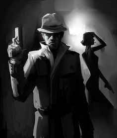(Film noir by Makkon from dA)