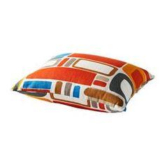"$9.99 VILMIE RUTA cushion, multicolor Length: 16 "" Width: 20 "" IKEA"
