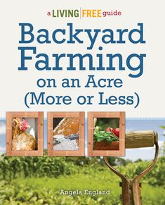 Backyard Farming on an Acre (More or Less) by @Angela England    MomPrepares is having a giveaway of this fabulous book! Check it out - http://www.momprepares.com/2012/12/04/backyard-farming-guide-review-and-giveaway/