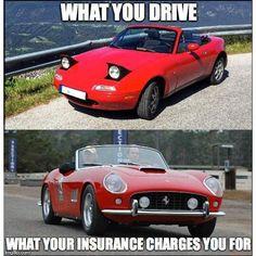Via Carthrottle Topmiata Mazda Miata Mx5 Eunos Roadster Carinsurance Ferrari Car Insurance Miata Classic Sports Cars