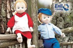 Teddykompaniet Ida Soft Doll - If you've already let prankster Emil come into your home with the Emil Soft Doll, you might as well invite in his younger sister, Ida, who is very well-behaved.