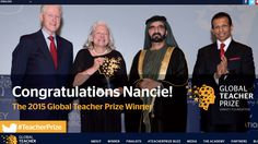 We attended The Global Teacher Prize in Dubai with LIBA (who made it to the top ten!!).