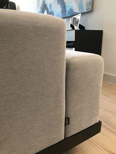 Sofa detail #sofa #mohair #upholstery #brand