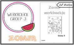 Thema zomer: werkboekje voor groep 3
