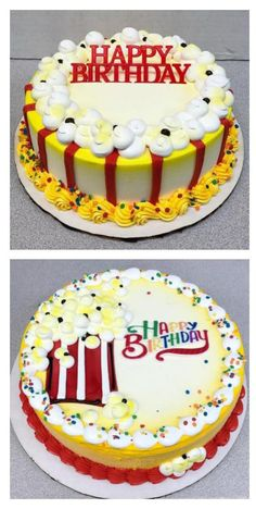 Buttercream Birthday Cake Icing Decorating Designs Cookie