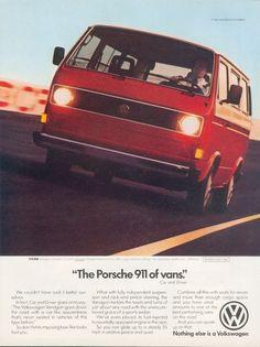 'The Porsche 911 of vans' - VW Vanagon