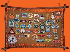 Make a 'hide rack' display for your patches | Boys' Life magazine