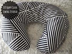 DIY Boppy Cover-Sewing Tutorial