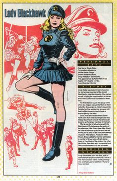 Lady Blackhawk screenshots, images and pictures - Comic Vine