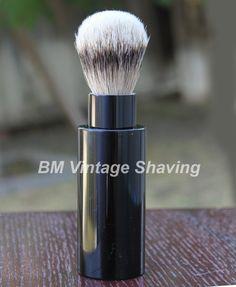 Travel Shaving Brush - Silvertip Badger !  #ShavingRazorsandBrushesCases Shaving Razor, Shaving Brush, Badger, Travel, Vintage, Viajes, Destinations, Traveling, Vintage Comics