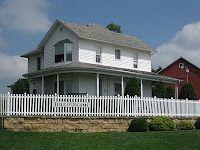 Field of Dreams house, Dyersville, Iowa.