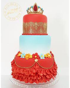 Elena de Avalor cake