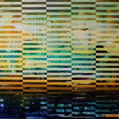 """DNA Landscape, 36"""" x 36"""", 2014"""