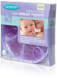 THERA°PEARL® 3-in-1 Breast Therapy | Lansinoh    This is a really cool product, pun intended! They come with little fabric bags to stick in your bra & they can be used hot or cold.
