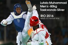 Great Britain's Lutalo Muhammad suffered an agonising last-second defeat in the men's -80kg taekwondo final - losing 8-6 to Cheick Sallah Cisse of the Ivory Coast.