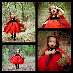 Little Red Riding Hood toddler costume  Www.Facebook.com/HappyToDesigns