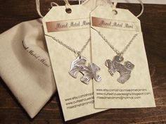 Sterling Silver Necklace/ Silver Pendant/ Silver by mixedmetalmimi, $49.95