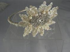 Items similar to Bridal Vintage Style Side Tiara Headpiece Wedding Accessory on Etsy Bridal Hair Fascinators, Fascinator Hairstyles, Rustic Wedding, Wedding Day, Vintage Style, Vintage Fashion, Wedding Headdress, Top Hairstyles, Bridal Hair Accessories