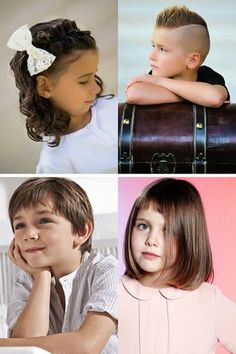 Coupe et coiffure pour fillette aux cheveux longs en 2018