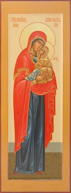 Святая Праведная Анна Orthodox Icons, Madonna, Saints, Religion, Mary, Female, Studio, Studios