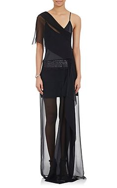 LOYD/FORD One-Shoulder Tuxedo Gown - Gowns - Barneys.com