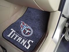 "NFL - Tennessee Titans 2-piece Carpeted Car Mats 17""x27"""