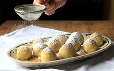 Slivkové gule ako od babičky - Coolinári | food blog Pretzel Bites, Bread, Blog, Basket, Challah, Brot, Blogging, Baking, Breads