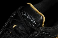 Adidas Porsche Vi-Sko Mænd Sort Guld Sliver Graceful Classic bedste pris