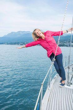 Peggy BOUCHET Navigatrice Française.