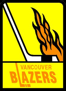 Vancouver Blazers logo - 1973-75 - World Hockey Association. Bruins Hockey 32e842d77