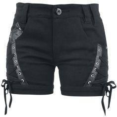 Vixxsin Hotpants -Cat- -- Kjøp nå hos EMP -- Mer Rock wear Hotpants tilgjengelig online - Uslagbare priser!