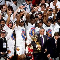 On this date, 22 years ago, the Houston Rockets won their 1st NBA Championship with a 90-84 win over the New York Knicks.  #houston #rockets #houstonrockets #rocketsnation #newyork #knicks #newyorkknicks #ny #bigapple #nba #basketball #playoffs #nbaplayoffs #finals #nbafinals #champion #championship #title #won #win #performance #history #retro #vintage #picoftheday #pictureoftheday #like4like #likeforlike #wednesday