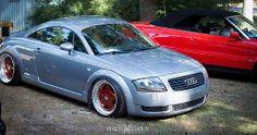 Audi TT MK1 - saw this at sowo. Gorgeous car.