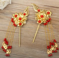 Cheap hairpin clip, Buy Quality accessories dog directly from China accessories palm Suppliers: Free shipping 2014 Handmade Tassel Bridal Crown Vintage Bridal hair accessories Gold Suit Chinese style  JewelryUS $ 32.