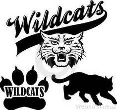 wildcat clipart free wildcat image vector clip art online royal rh pinterest com wildcat paws clip art wildcat claws clip art