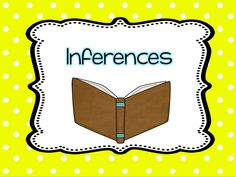 Books to teach inferences
