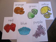 Adventures in Tutoring and Special Education: Jello Colors