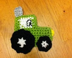 traktor...Thanks for sharing this great appliqué !