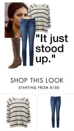 """""""Bailing Sam Out"""" by ameliaab ❤ liked on Polyvore featuring rag & bone, Paige Denim, Office, women's clothing, women's fashion, women, female, woman, misses and juniors"""