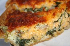 Spinach Artichoke Quiche | Recipe | Quiche, Artichokes and Spinach
