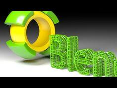 Blender Tutorial: Fantasy Text Factory Animation - YouTube