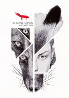 The Indian Runners by Chamo San, via Behance