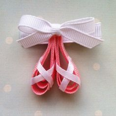 Ballet Hair Clip. Too Cute!