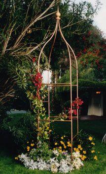 Copper Hummingbird Garden Obelisk Trellis | For The Garden | Pinterest |  Arbors Trellis, Arbors And Gardens