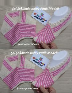 Image gallery – page 404268504049977450 – artofit Crochet Socks Pattern, Knitting Patterns Free, Free Knitting, Baby Knitting, Crochet Baby, Crochet Patterns, Knit Shoes, Crochet Shoes, Poncho With Sleeves