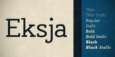 Eksja™ font download